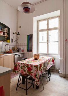 我們看到了。我們是生活@家。: 法國Céline的美麗公寓!喜愛復古與現代融合的室內風格,讓家充滿創意!