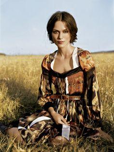 Keira Knightley by Arthur Elgort / Vogue
