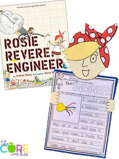 This is a great story about growth mindset. Your students will love Rosie Revere and they will love the writing and craft!