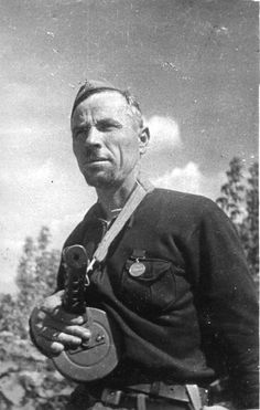 Партизан-разведчик Е.А. Репенко из отряда Корнаухова