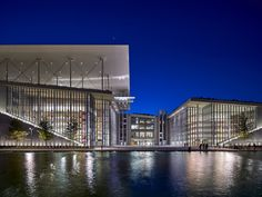 The Cultural Centre operated by the Stavros Niarchos Foundation, designed by Renzo Piano Building Workshop in Kallithea (Athens) and inaugurated in the summer of 2016, was presented with the ENR 2016 (Engineering News Record) Global Best Projects Award in an awards ceremony held on October 12 in New York. #Architecture #Design #Project