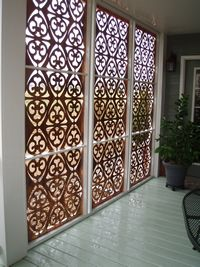 Parasoleil Architectural Panels - use for privacy screening, shade, accents
