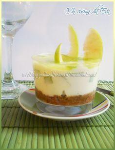 Cheesecake alla mela verde