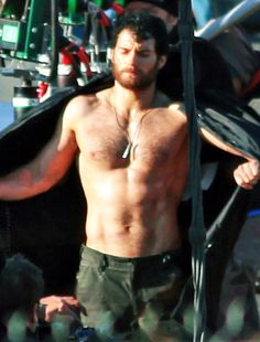Henry Cavill in Superman Hairy Hunks, Hairy Men, Henry Caville, Superman Henry Cavill, Hommes Sexy, Hairy Chest, Shirtless Men, Thing 1, Male Beauty