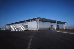 Entrepôt aéroportuaire, Bouguenais, Manuelle Gautrand - Realisation