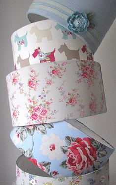 Cath Kidston Fabric Lampshades