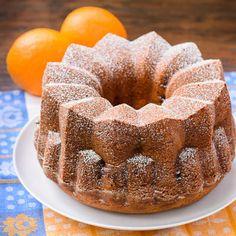 Orange Blueberry Yogurt Bundt Cake | Magnolia Days