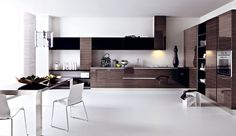 100-Modern-Kitchen-Design-Ideas-With-Circle-Dining-Table-And-Modern-Gloss-Grey-Pine-Kitchen-Design-Kitchen-Design