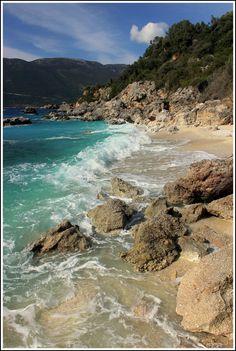 The beach - Vasiliki, Lefkada  Grecia