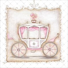 Rosenberry Rooms has everything imaginable for your child's room! Share the news and get $20 Off  your purchase! (*Minimum purchase required.) Little Princess Carriage III Canvas Wall Art