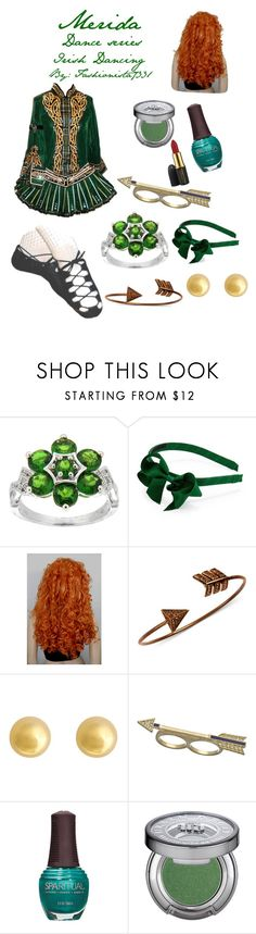 """Merida Dance series"" by fashionista7331 ❤ liked on Polyvore featuring Pearlz Ocean, Rachel Rachel Roy, J by Jasper Conran, Danielle Stevens, SpaRitual, Urban Decay and MAC Cosmetics"