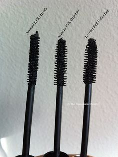 The Convenient Beauty: Review: Giorgio Armani Eyes to Kill Stretch and Original Mascara Versus L'Oreal Voluminous Full Definition