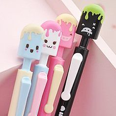Icy Pop Pens, The Kawaii Notebook