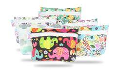 Wetbag | Petit Lulu Wet Bag, Diaper Bag, Pattern, Bags, Mini, Raincoat, Elephants, Handbags, Diaper Bags