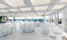 Santorini wedding - Our brand new wedding venue in Santorini from destination wedding planners, The Bridal Consultant