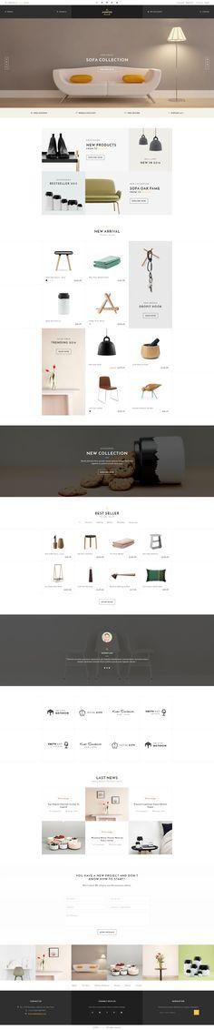 Avanter - Funiture Store PSD Template - #PSD #Templates | Download http://themeforest.net/item/avanter-funiture-store-spd-template/15275843?ref=sinzo