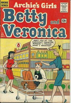 Comic Books - Betty and Veronica