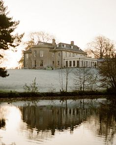 Babington House, a 16th-century manor turned hotel and spa, on an 18-acre estate in Somerset, England