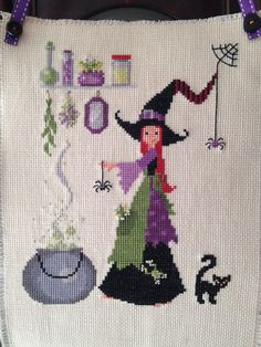 Little Witch Cross Stitch