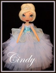 OOAK Art Doll by Ring A Rosie https://www.facebook.com/RingRosie?ref=hl Princess Cinderella