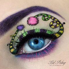 Dr. Seuss Makeup Look!