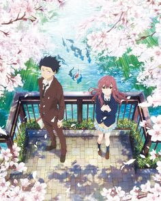 """A Silent Voice"" (Japanese: 聲の形 Hepburn: Koe no Katachi) is a 2016 Japanese anime school drama film produced by Kyoto Animation, directed by Naoko Yamada and written by Reiko Yoshida, featuring character designs by Futoshi Nishiya and music by. Manga Anime, Film Manga, Film Anime, Anime Art, Cosplay Anime, Anime Love, Koe No Katachi Anime, A Silence Voice, A Silent Voice Anime"