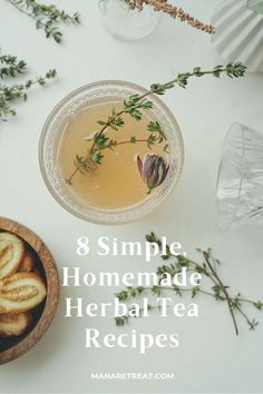 Winter is just around the corner and what's better than sipping on a nice hot tea during the colder days ... Learn how to make 8 Simple, Homemade Herbal Tea Recipes Low Sugar Recipes, Tea Recipes, Sugar Foods, Healthy Foods To Eat, Healthy Recipes, Best Herbal Tea, List Of Vegetables, Healthy Cocktails, Lose Weight