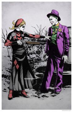 1920s Harley and Joker - Albert Nguyen