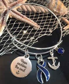 Holly Road Head and Neck Cancer Awareness Silver Survivor Bracelet Jewelry Choose Your Text