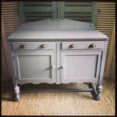 In our boutique and online later just finished #somethingspecial in your #home #one-off #paintedfurniture #upcyclingstitsbest #buffet #console #sussex #lovinglymade