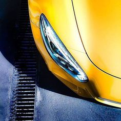 """""""Perfect from every angle. Like the LED High Performance headlamps with stylised """"eyebrows"""". via @mbusa [Mercedes-AMG GT 
