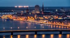 Night Riga by Svetlana Stasaite on 500px