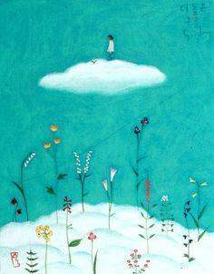 (via [서프라이즈] 이수동 화가) In The Cloud Higher Than Cloud, Soodong Lee