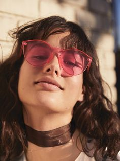 Spectrum Sunglass | Ultra cool sunnies with a modern, high fashion feel. Available in an array of hues, this accessory is a truly stylish statement piece.