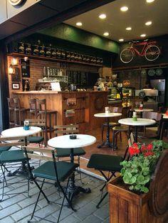 Interior Design www.darulmesai.com Cafe Post Office Karakoy