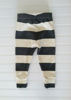 candy kirby designs | organic cotton charcoal striped leggings | Online Store Powered by Storenvy