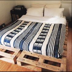 Great idea for a teen room on a budget!  My son is quite excited. We've got pallets behind the barn.