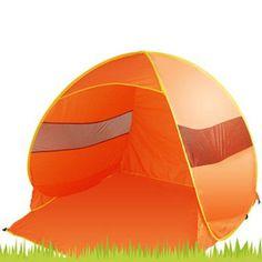 2 - 3 Persons Camping / Fishing / Beach Tent UltravioletShelter  -  ORANGE #UnbrandedGeneric