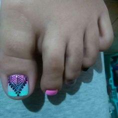 Toe Nail Art, Toe Nails, Cute Pedicures, Great Nails, Nail Designs, Makeup, Beauty, Toenails, Toenails Painted