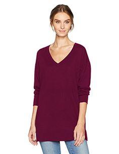 Women's Merino V-Neck Pullover Sweater