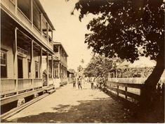 Main Street in Apia, Samoa