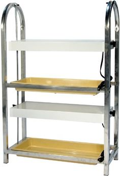 AmazonSmile : Growers Supply Company 27-Inch L by 12-Inch W by 22-Inch H Compact Lite Cart with 1-Shelf and 1-Fixture : Standing Shelf Units : Patio, Lawn & Garden