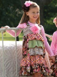 Serendipity  Ruffle Dress Set