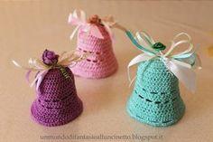 Un Mondo di Fantasie all'Uncinetto di Lisa : Campane pasquali all'uncinetto - Easter Crochet