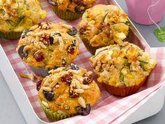 Tomaten-Basilikum-Muffins