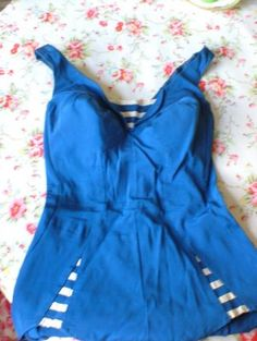 Vintage Swimming Costume Ahhhh the legs are so cute