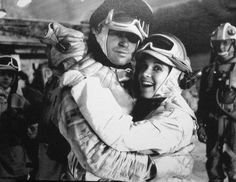 Treat Williams and Carrie Fisher.