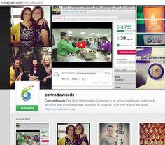 FOLLOW US ON INSTAGRAM! www.instagram.com/conradawards