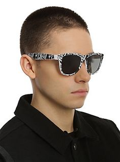 Twenty One Pilots Ride Smooth Touch Retro Sunglasses,
