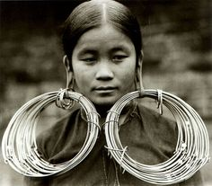 Li woman of Hainan Island in the South China Sea National Geographic, 1938, photo by T C Lau